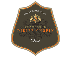 Champagne Millésime Didier Chopin