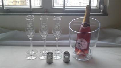 Seau à Champagne classique