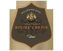 Champagne Millésime Didier Chopin